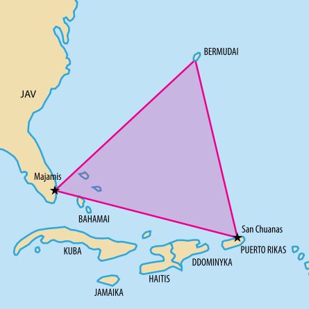 Kisah Misteri - Segitiga Bermuda